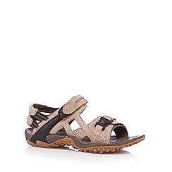 Merrell - Beige suede walking sandals