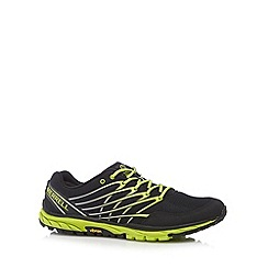Merrell - Black sport lime green detail trainers