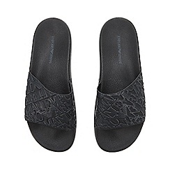 Base London - Black high shine leather shoes
