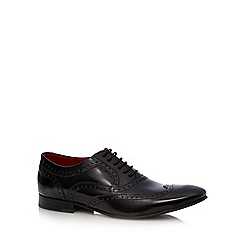 Base London - Black high shine leather brogues