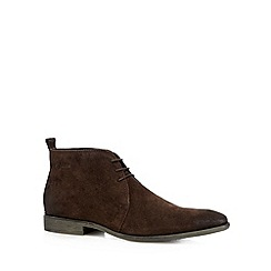 Base London - Brown suede chukka boots