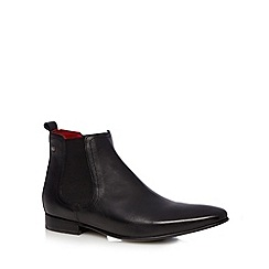 Base London - Black leather chelsea boots