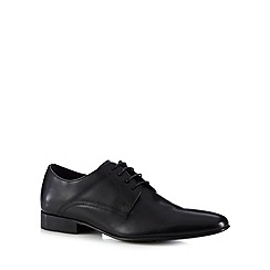 Base London - Black leather lace up shoes