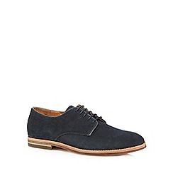 H By Hudson - Navy suede lace up shoes