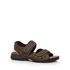 Rieker - Brown strap sandals