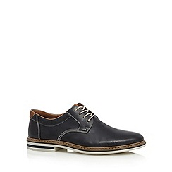 Rieker - Navy leather lace up shoes