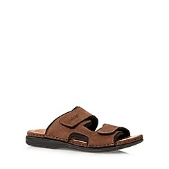 Rieker - Tan double strap sandals