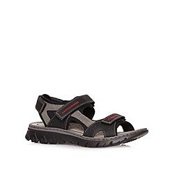 Rieker - Black sports sandals