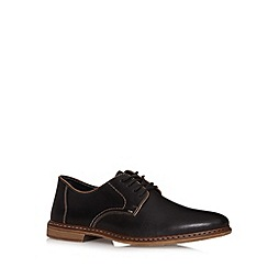 Rieker - Black leather lace up shoes