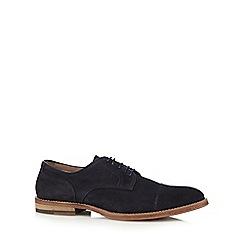 RJR.John Rocha - Navy suede lace up shoes
