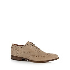 Hammond & Co. by Patrick Grant - Designer natural suede oxford brogues