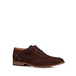 Hammond & Co. by Patrick Grant - Designer chocolate suede brogues
