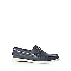 Hammond & Co. by Patrick Grant - Designer navy leather shoes