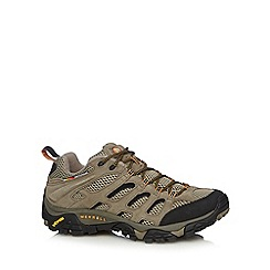Merrell - Natural leather panel walking shoes