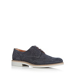 J by Jasper Conran - Designer navy suede lace up brogues