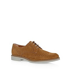 J by Jasper Conran - Designer tan brogue shoes