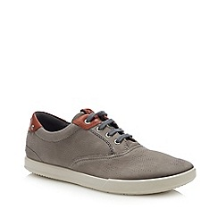 J by Jasper Conran - Designer grey suede lace up brogues