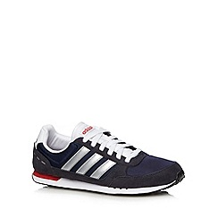 adidas - Navy 'NeoCity Racer' trainers