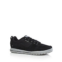 Skechers - Black 'Arcade 11- Next Move' suede trainers