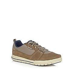 Skechers - Taupe 'Arcard II Next Move' trainers