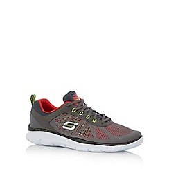 Skechers - Dark grey 'Equalizer-Deal Maker' trainers