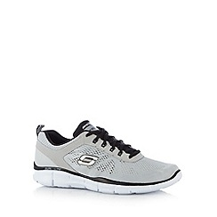 Skechers - Light grey 'Equalizer-Deal Maker' trainers