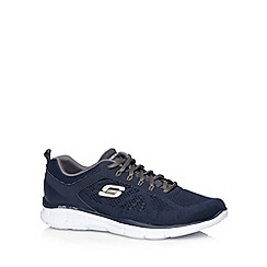 Skechers - Navy 'Equalizer-Deal Maker' trainers