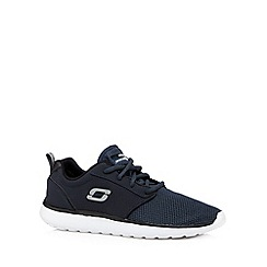 Skechers - Navy 'Counterpark' trainers