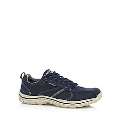 Skechers - Navy 'Expected Mellor' casual trainers