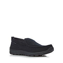 Skechers - Black 'Superior-Faris' slip ons