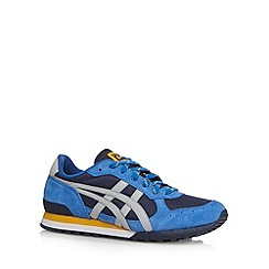 Onitsuka Tiger - Blue suede trim trainers