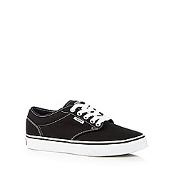 Vans - Black lace up trainers