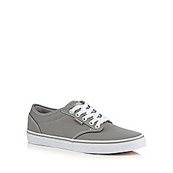 Vans - Grey 'Atwood' lace up trainers