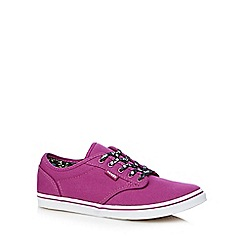 Vans - Pink lace up shoes