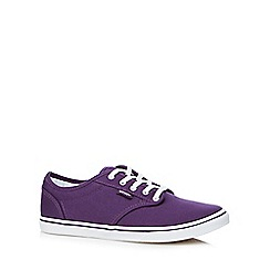 Vans - Purple lace up shoes
