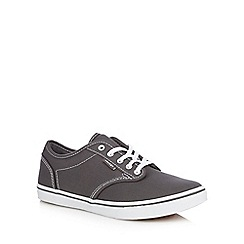 Vans - Dark grey lace up shoes
