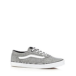 Vans - Light grey 'Atwood' lace up trainers
