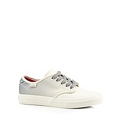 Vans - White ombre lace up trainers