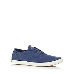 Keds - Blue slip on shoes