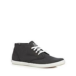 Keds - Dark grey canvas chukka boots