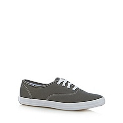Keds - Light grey canvas plimsolls