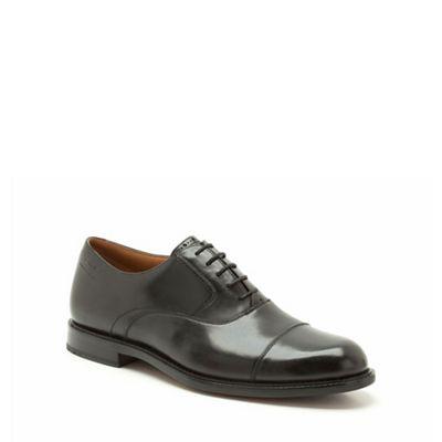 Clarks Dorset Boss Black Leather Brogue - . -