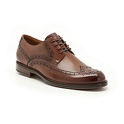 Clarks - Dorset Limit Brown Leather Brogue