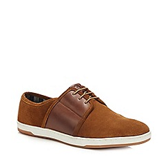 Clarks - Francis Air Tan Leather Smart Lace Up Shoe