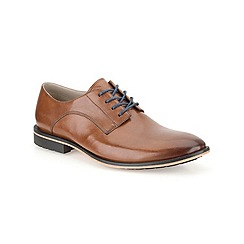 Clarks - Gatley Walk Tan Leather Smart Lace Up Shoe