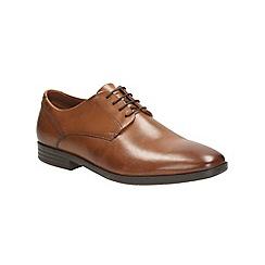 Clarks - Glenrise Walk Tan Leather Brogue
