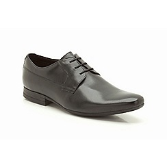 Clarks - Grant Walk Black Leather Formal Lace Up Shoe