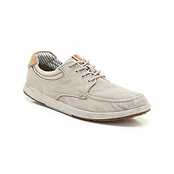 Clarks - Norwin Vibe Sand Textile Casual Lace Up Shoe