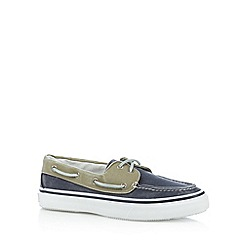 Sperry - Navy two tone boat shoes