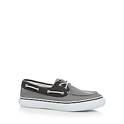 Sperry - Grey two tone boat shoes
